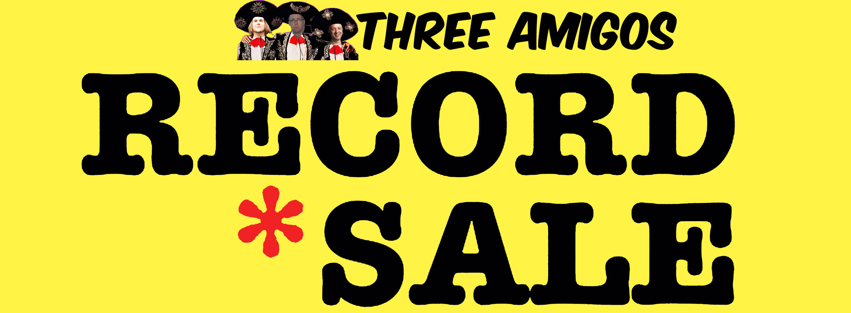 Three Amigos Fall Record Sale – Massive Private Vinyl Collection