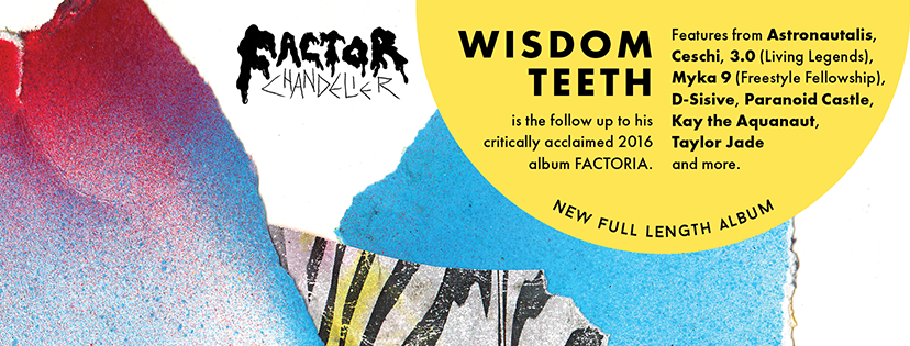 Factor Chandelier Wisdom Teeth Album Release Party