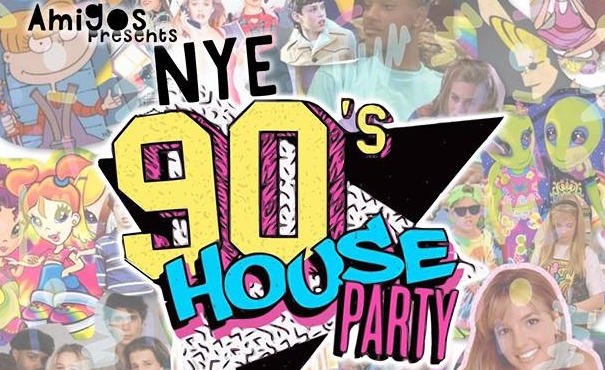 90's House Party NYE ft. The Pistolwhips, Ritual Rabbits, Hattie & DJ Marketmall