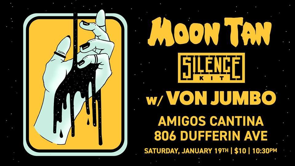 Von Jumbo w/ Moon Tan, Silence Kit