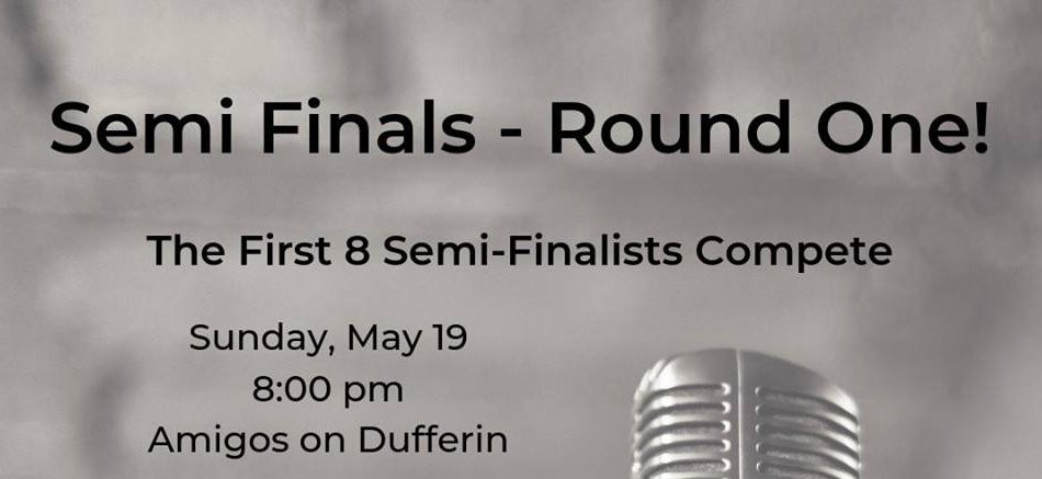 Tonight It's Poetry Semi Finals – Round One