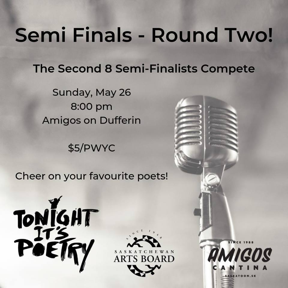 Tonight It's Poetry – Semi Finals – Round Two