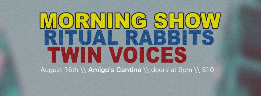 Morning Show w/ Ritual Rabbits, Twin Voices