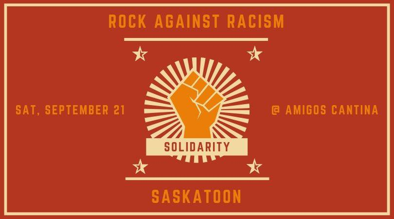 Rock Against Racism Saskatoon 2019