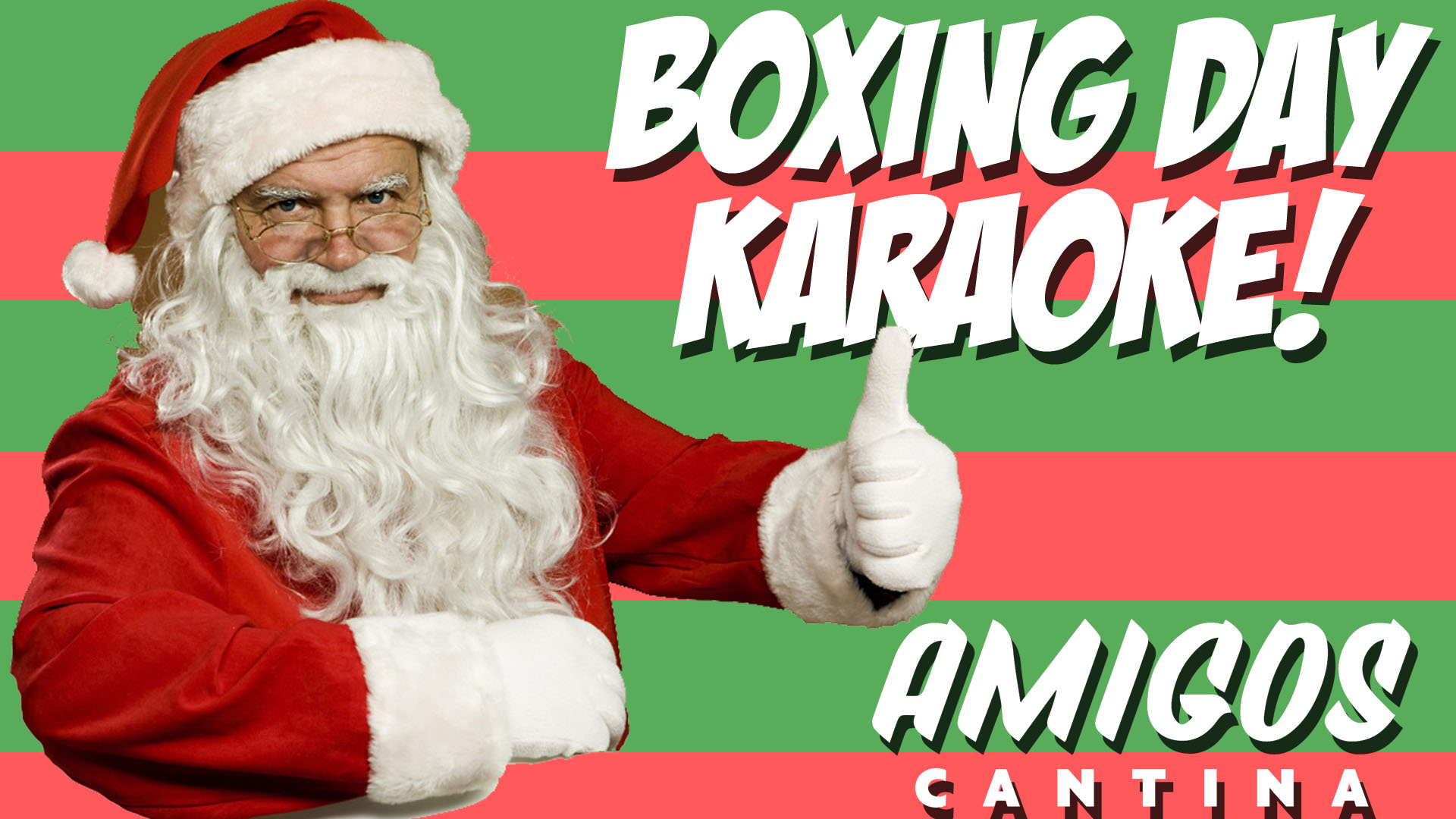 Amigos Karaoke – Boxing Day Edition!