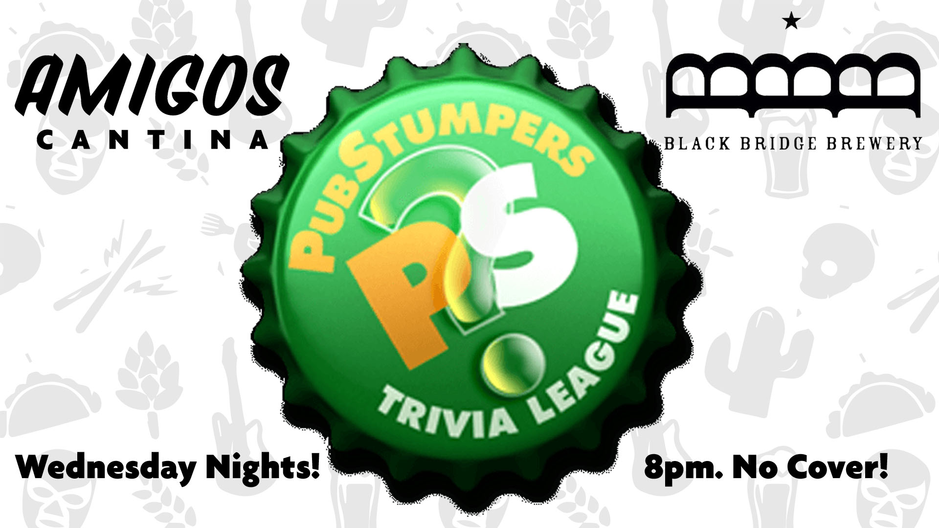 Pub Stumpers Trivia Night at Amigos!
