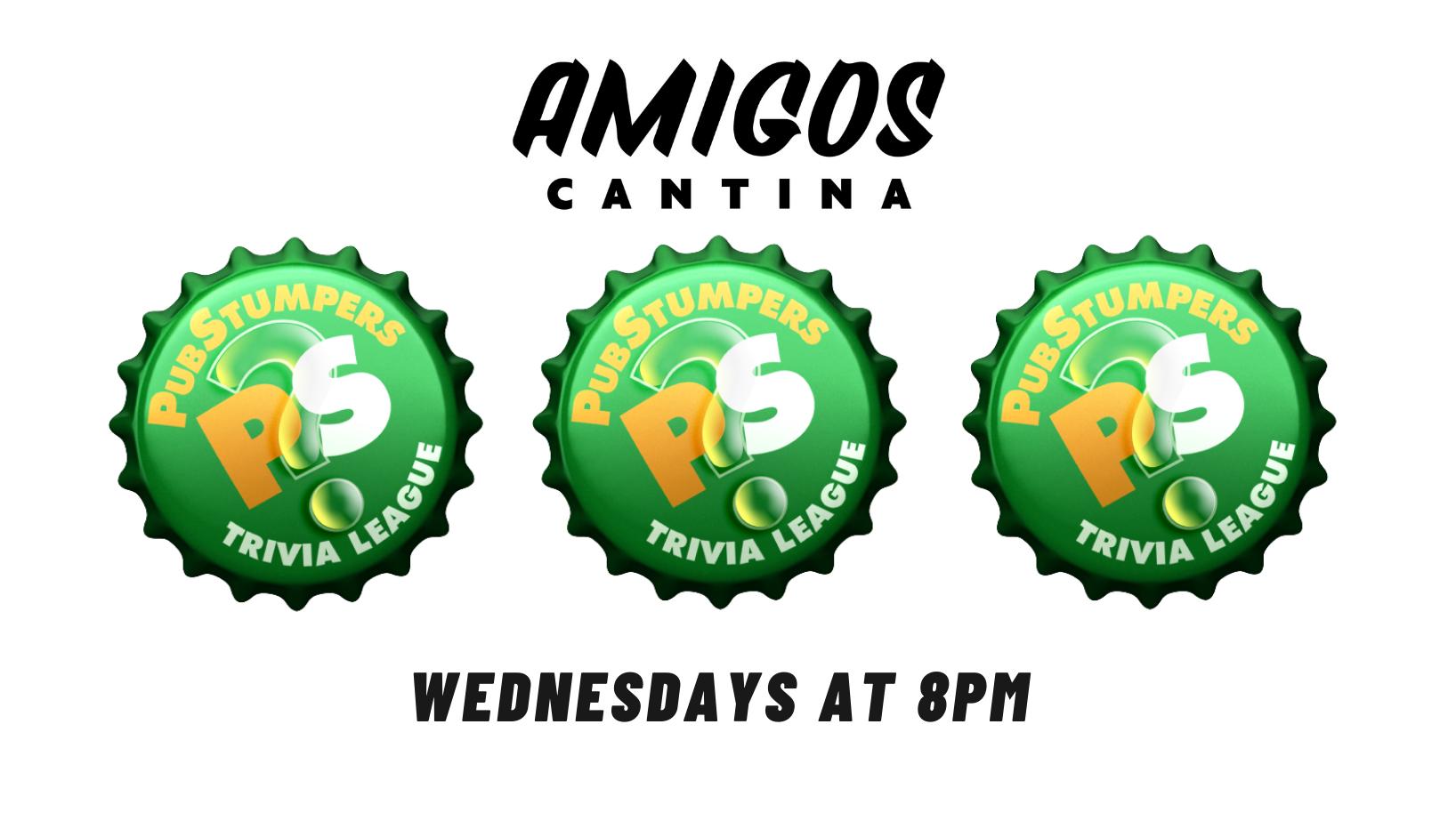 Pub Stumpers Trivia Night – Wednesdays at Amigos!