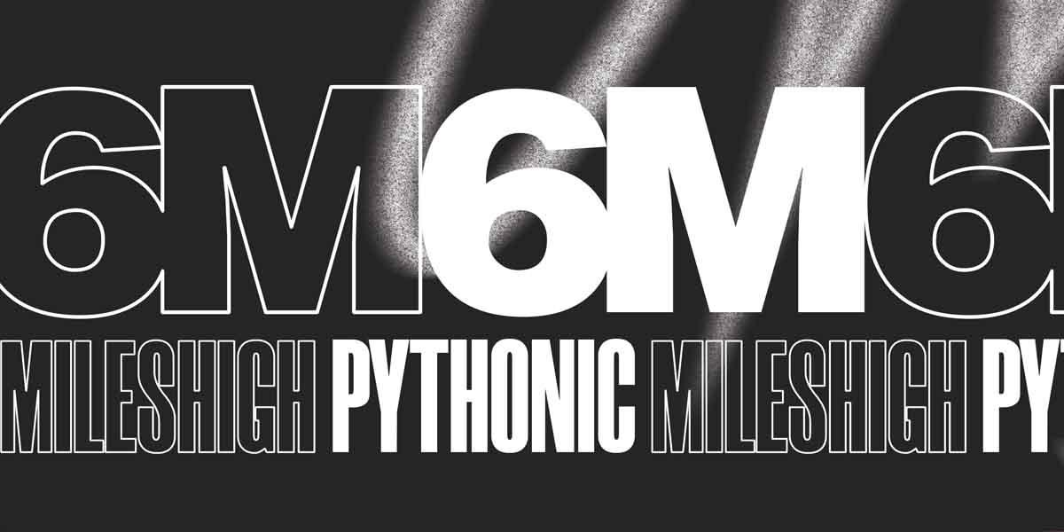 6M, Pythonic, MilesHigh